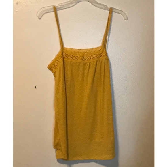Old Navy Tops - Yellow tank top